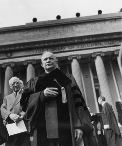 Eisenhower at Columbia University. (Credit: FPG/Archive Photos/Getty Images)
