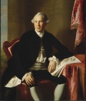 Portrait of Joseph Warren. (Credit: John Singleton Copley/Museum of Fine Arts, Boston)