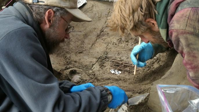 ice age, burials