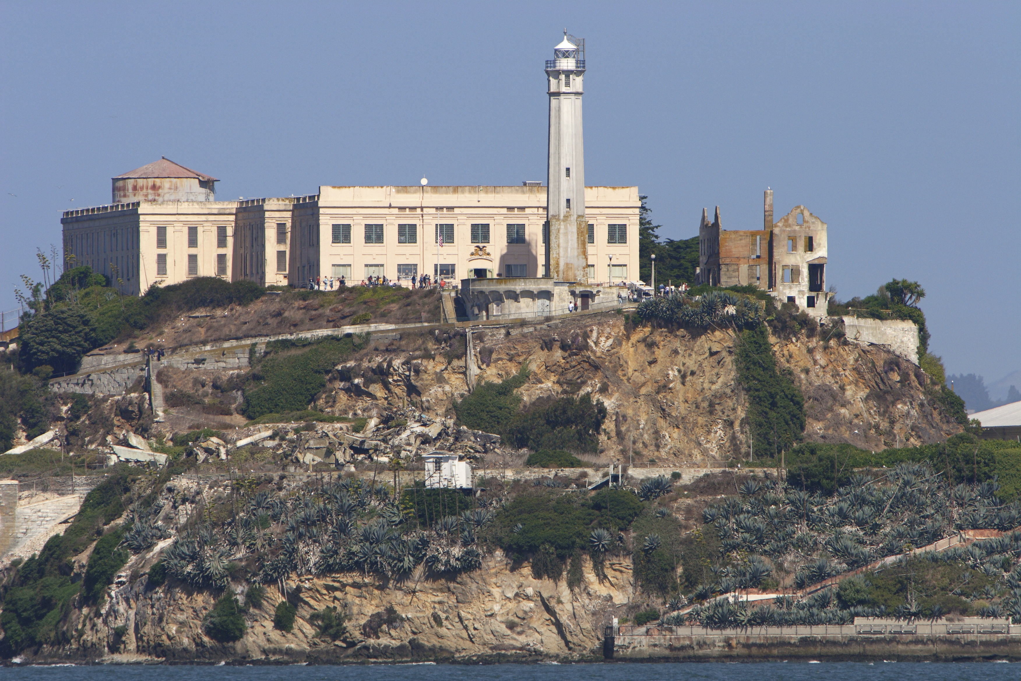 history of alcatraz A brief history of its infamous prisoners and what happened during the indian occupation of the island  the true history of alcatraz dates back thousands of years, when this small island stood on its own in the sf bay.