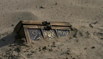 Did pirates really bury their treasure?