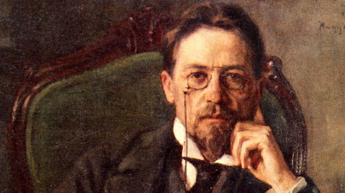 Portrait of Anton Chekhov.  (Photo by Culture Club/Getty Images)