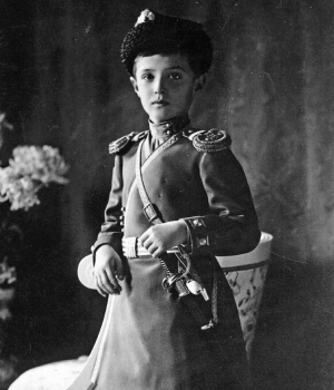 Czarevich Alexei Nikolaevich Romanov, Nicholas II's son and the heir to the throne. (Credit: Universal History Archive/Getty Images)