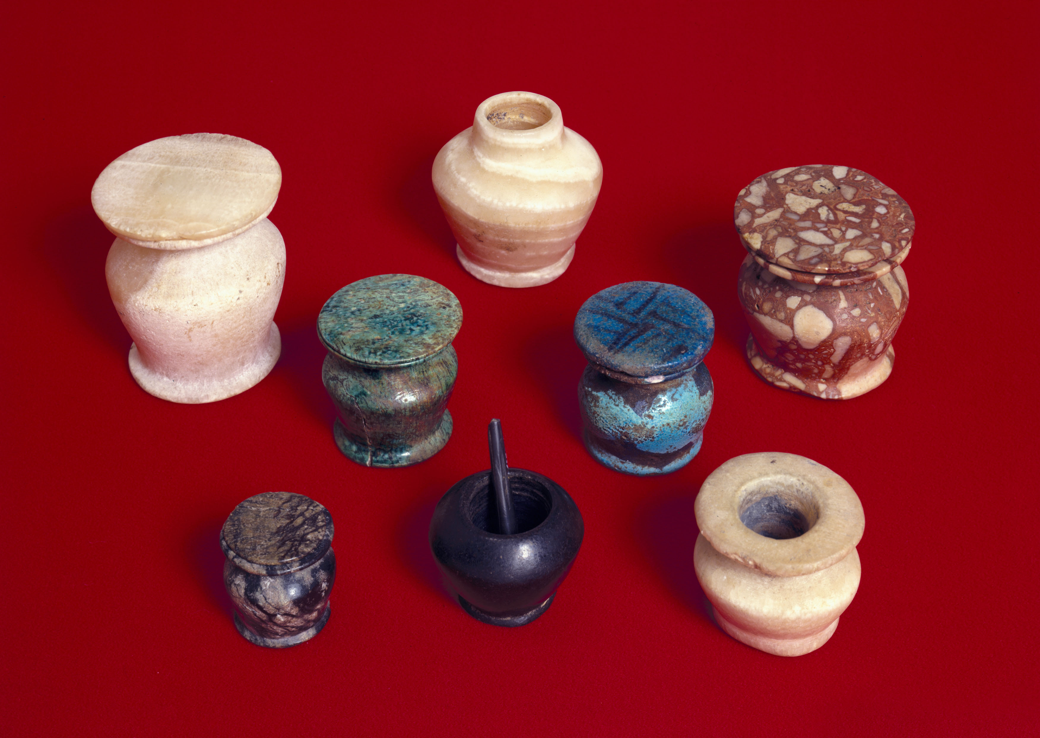 8 inventions we owe to the ancients history lists granite kohl pots like these were used to mix the ingredients together for ancient egyptian make biocorpaavc