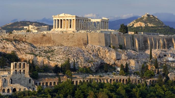 Acropolis in Athens, Greece. (Credit: René Mattes/Corbis)