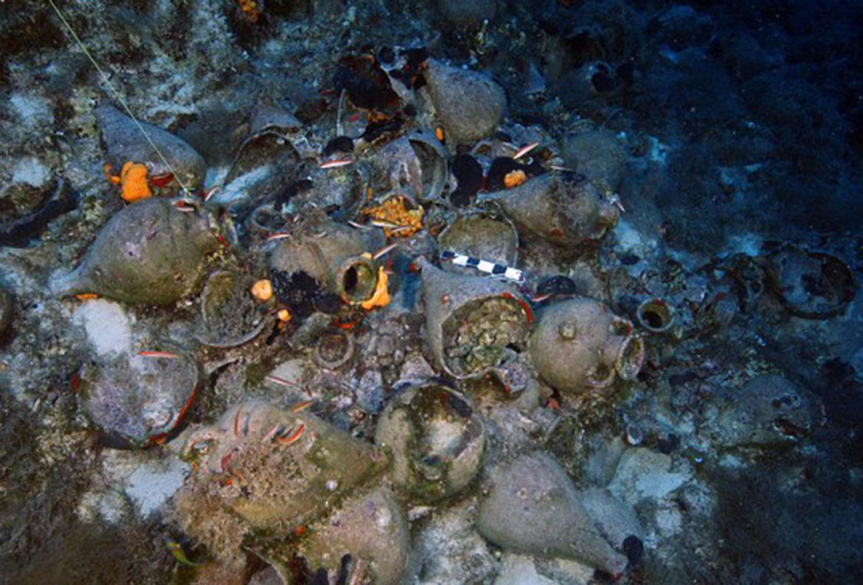 Archaeologists Find 22 Shipwrecks Off One Greek