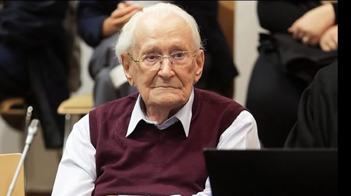 Oskar Groenig  in 2014. (Credit: AP Photo)