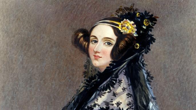 Portrait of Ada Lovelace.