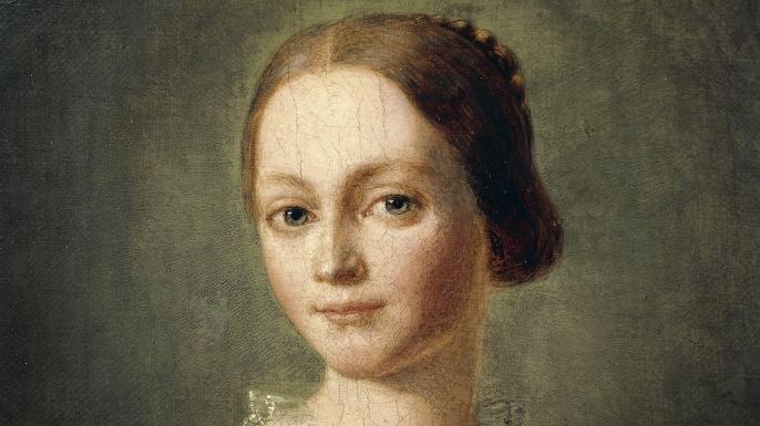 UNSPECIFIED - CIRCA 1986:  Portrait of Clara Josephine Wieck Schumann (Leipzig, 1819 - Frankfurt am Main, 1896), German pianist and composer, wife of Robert Schumann.  (Photo By DEA / A. DAGLI ORTI/De Agostini/Getty Images)