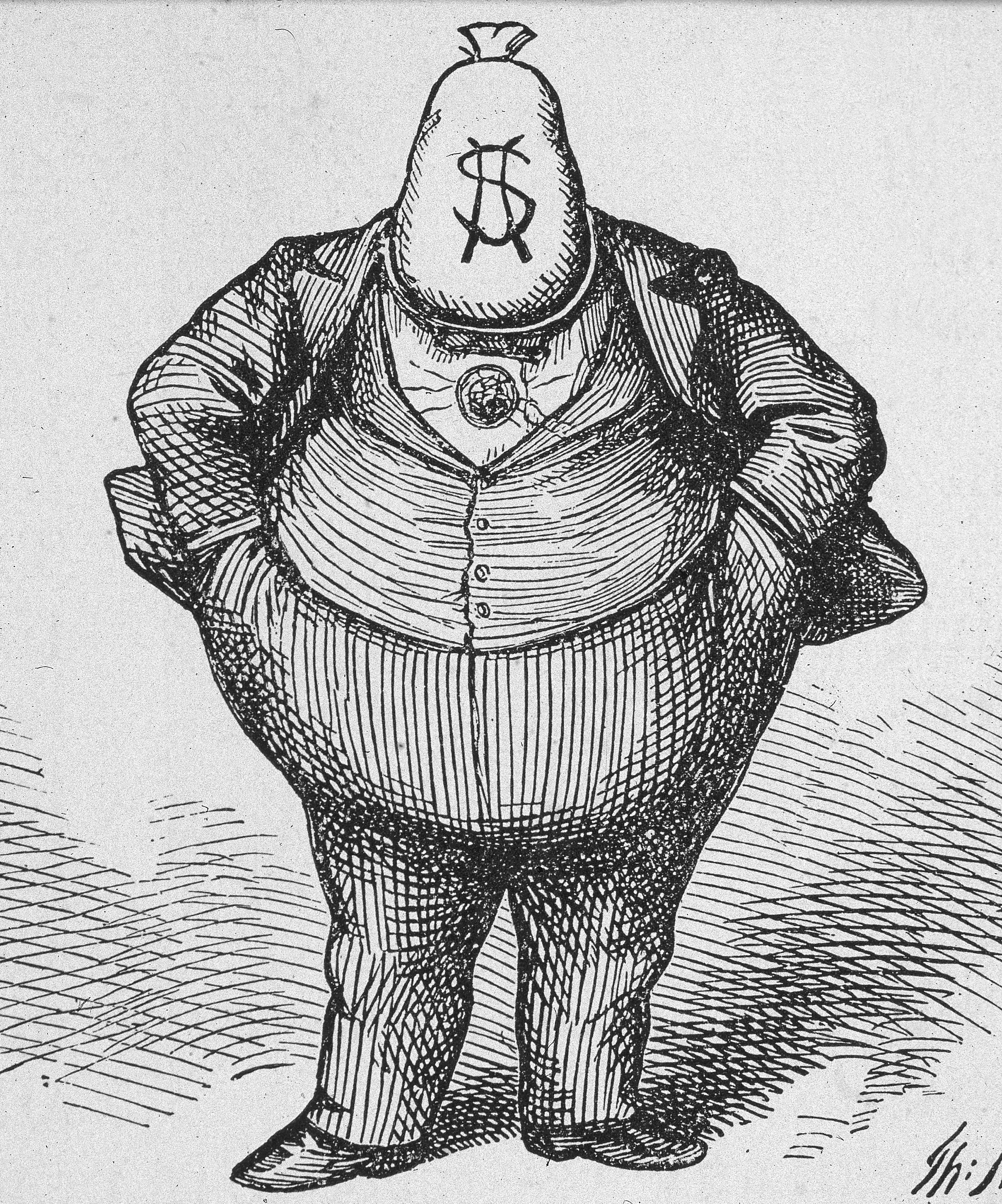 Thomas nast political cartoons