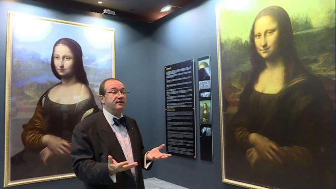 "Scientist Finds Hidden Portraits Underneath ""Mona Lisa ..."
