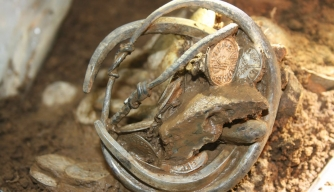 Viking Treasure Trove Unearthed from English Field