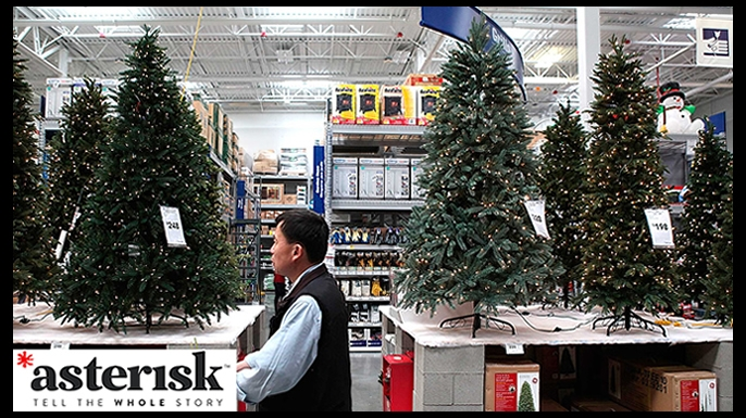 Asterisk - The Real Deal With Fake Christmas Trees
