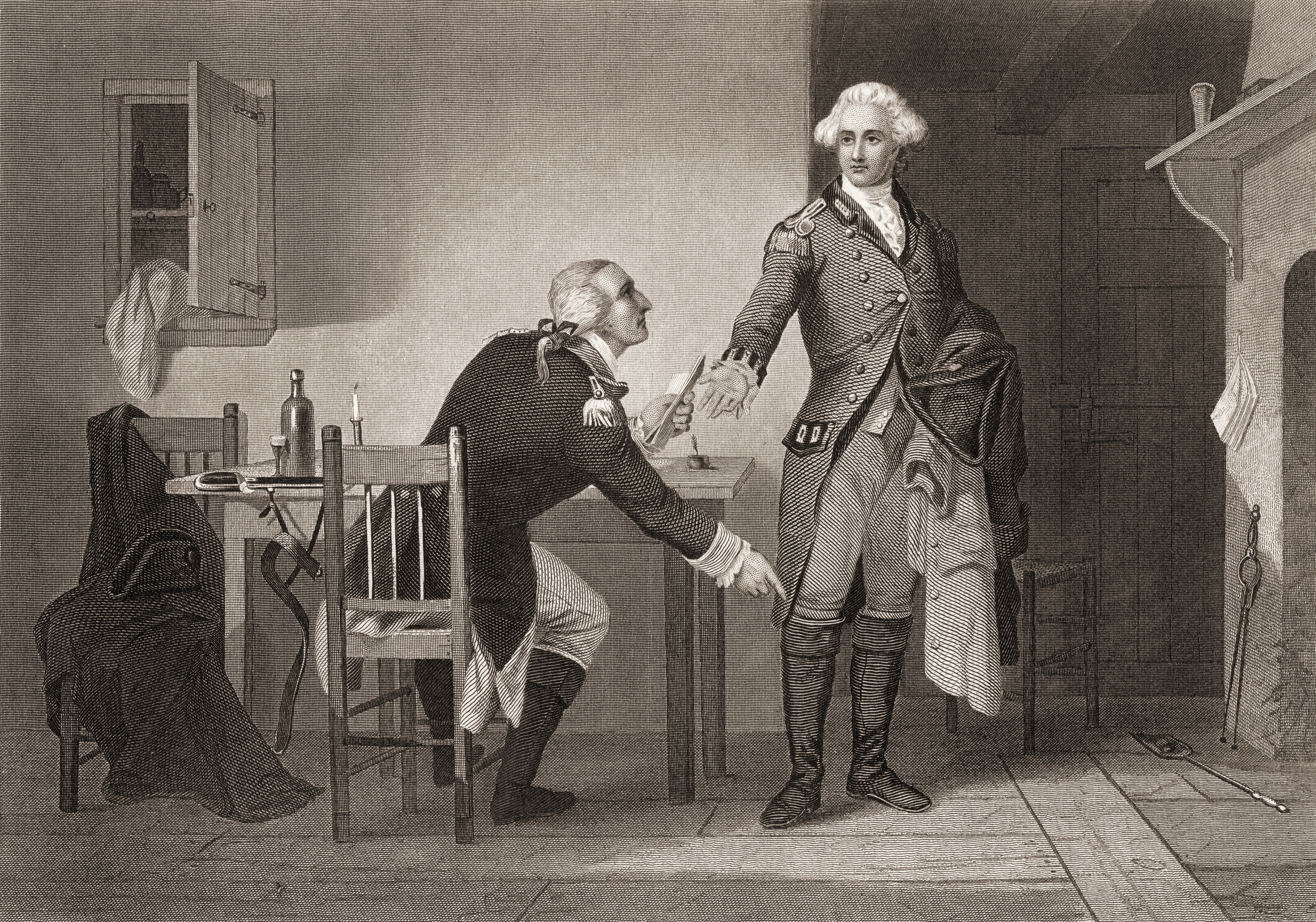 an overview of george washingtons escape from the british army at new york It is thanks to the first lady that the famous stuart painting of george washington survived the british army's  when dolley madison  on new york avenue and.
