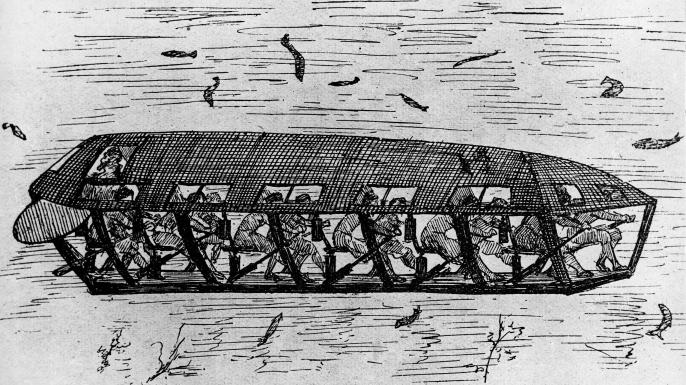 Illustration of a Drebbel. (Credit: ullstein bild/Getty Images)