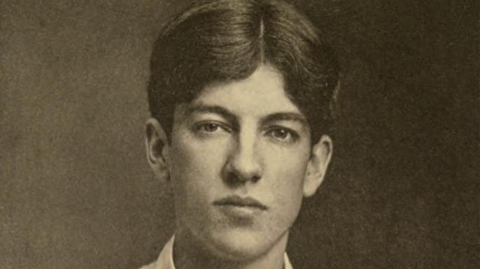 Portrait of Alan Seeger. (Credit: Public Domain)