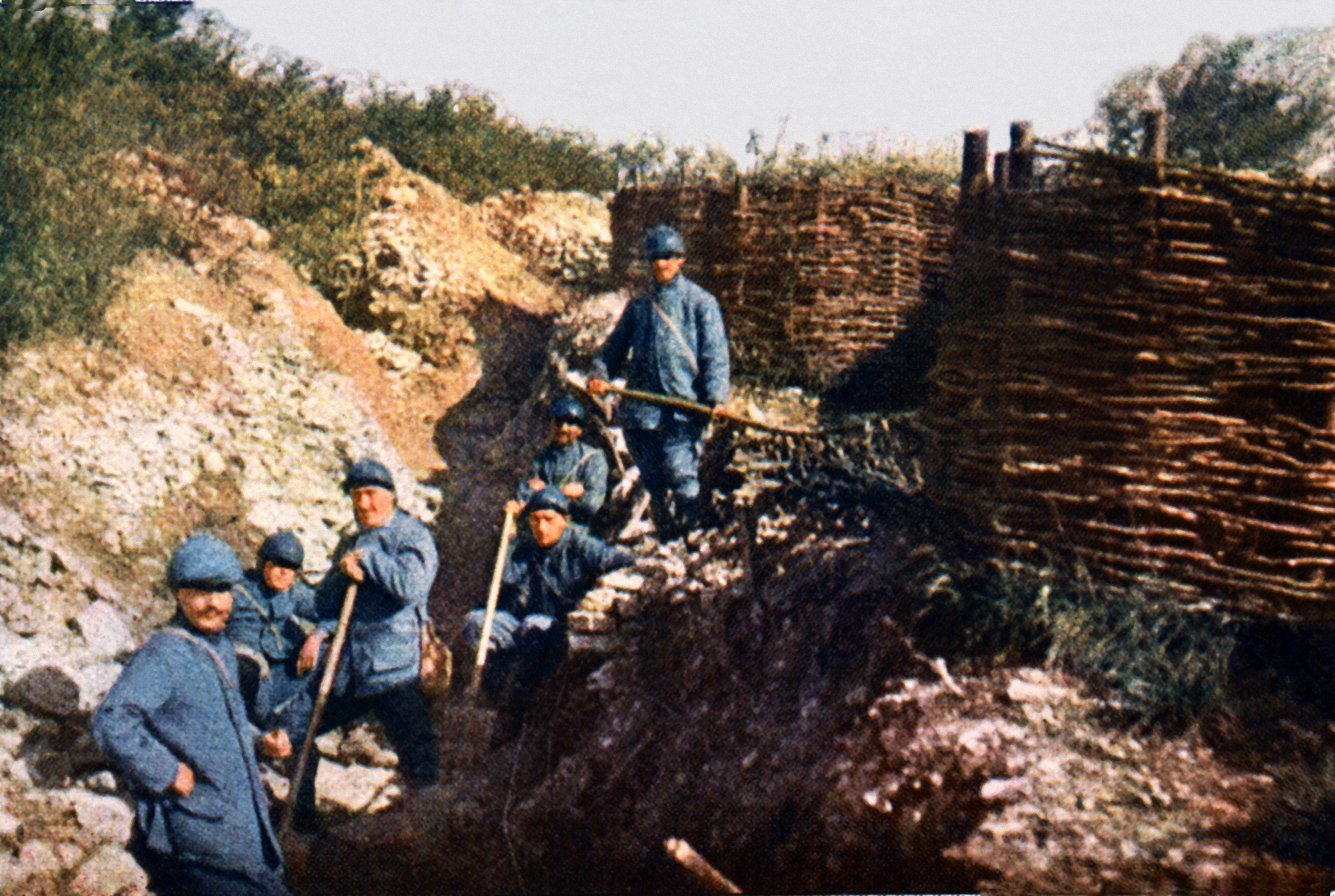 10 things you may not know about the battle of verdun - Battlefield 1 french soldier ...