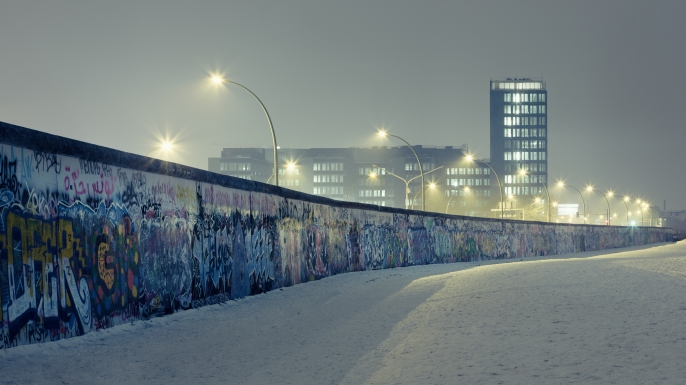 Berlin wall. (Credit: spreephoto.de/Getty Images)