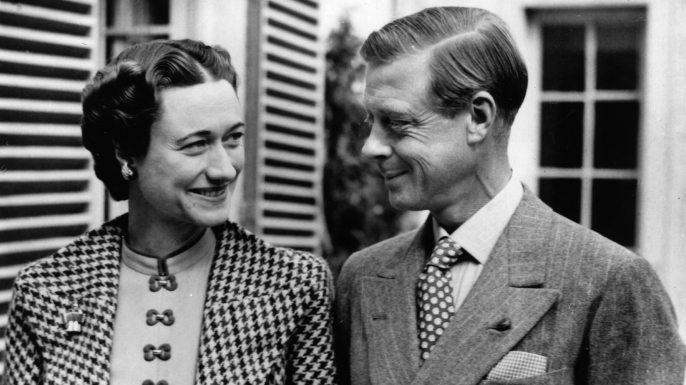 The Duke and Duchess of Windsor in England. (Credit: Hulton Archive/Getty Images)