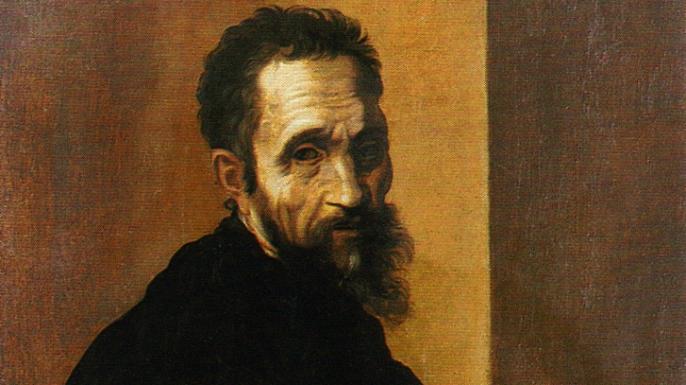 Portrait of Michelangelo Buonarroti. (Credit: Public Domain)