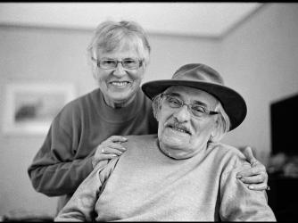 Portrait Of Samuel and Ada Willenberg. (Chuck Fishman/Getty Images)