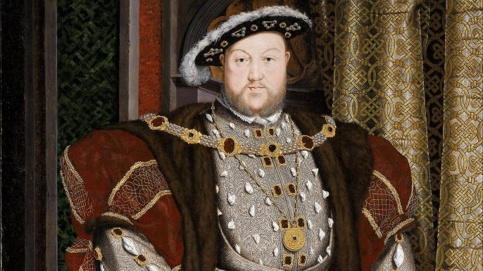 Portrait of Henry VIII.  (Credit: Public Domain)