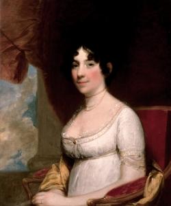 Portrait of Dolley Madison. (Credit: Public Domain)