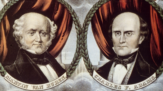 Free Soil Party, presidential elections, martin van buren