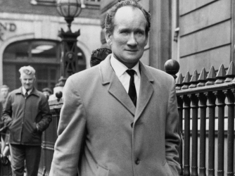 Edward Betchley, who is charged with the theft of the Jules Rimet trophy. (Credit: William H. Alden/Evening Standard/Hulton Archive/Getty Images)