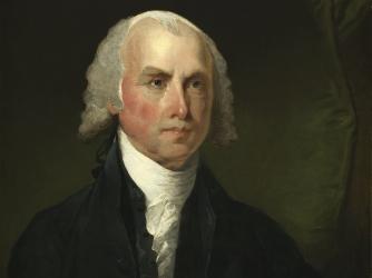 Portrait of James Madison. (Credit: Public Domain)