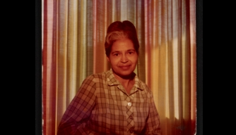 Rosa Parks at House of Beauty. (Credit: Library of Congress)