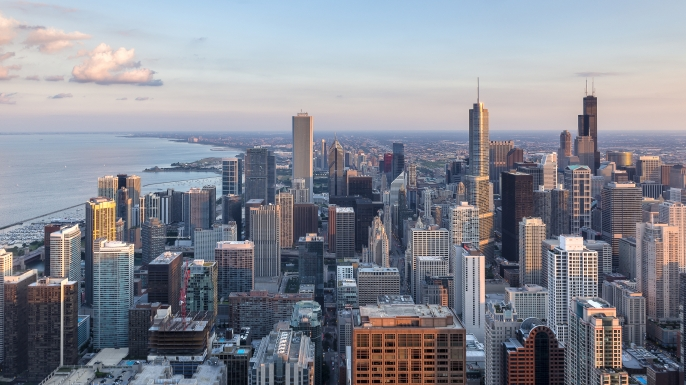 Chicago Skyline. (Credit: Phil/Getty Images)