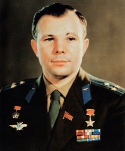 Yuri Gagarin, portrait. (Credit: rps/ullstein bild/Getty Images)