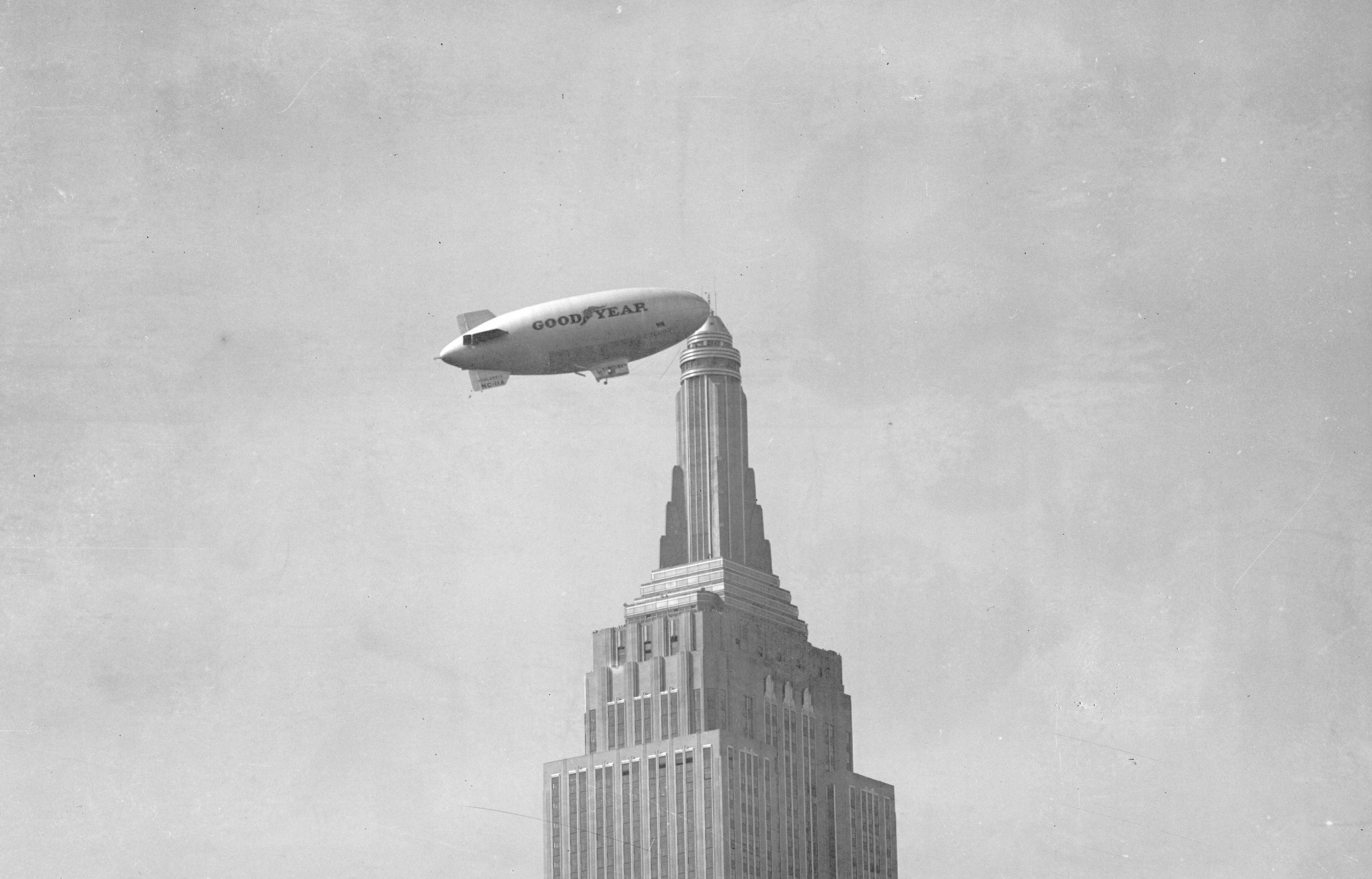 Empire State Building Blimp Dock