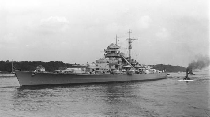 Bismarck. (Credit: German Federal Archives)