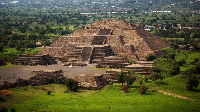 Teotihuacán. (Credit: Anuska Sampedro/Getty Images)