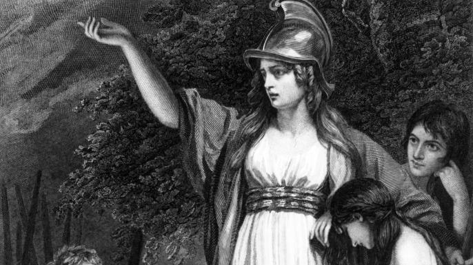 Boudica, barbarians