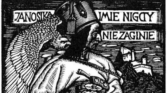Wood engraving of Juraj Janosik. (Credit: Public Domain)