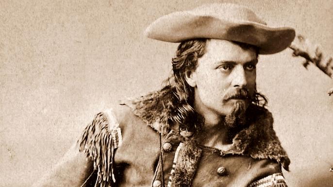 Buffalo Bill Cody. (Credit: Public Domain)