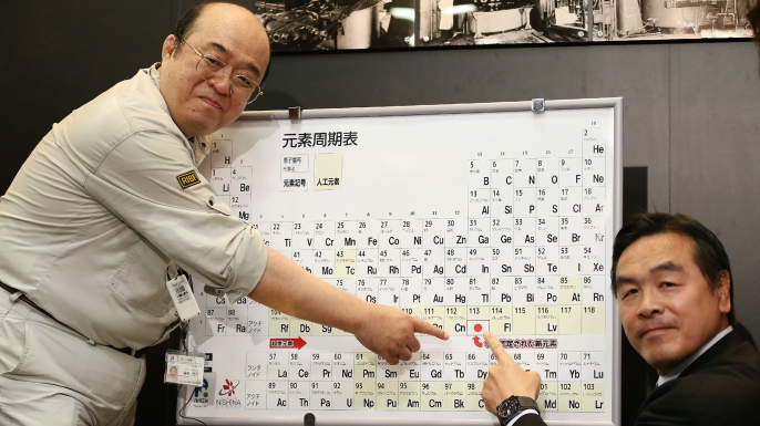 Four additions to periodic table get new names history in the researchers in japan have proudly proposed nihonium as the name for the first element urtaz Gallery