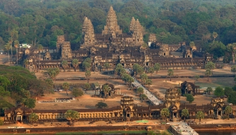 Lasers Reveal Medieval Cities in Cambodian Jungle