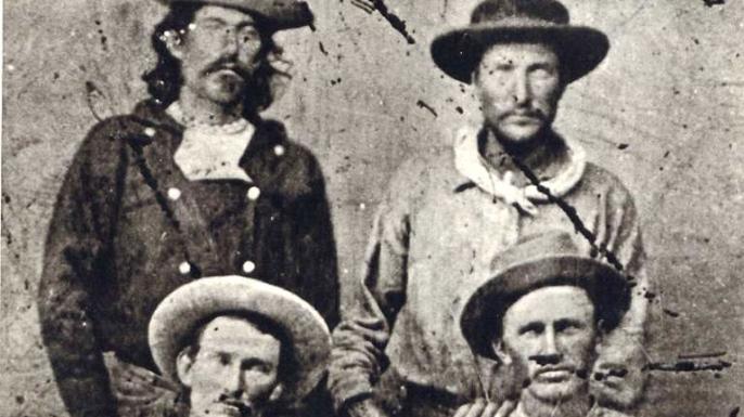 Pony Express riders. (Credit: Public Domain)
