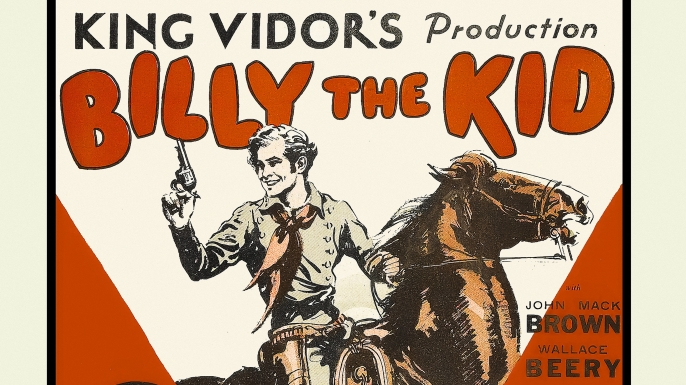 """Movie poster for a 1925 """"Billy the Kid"""" film. (Credit: Buyenlarge/Getty Images)"""