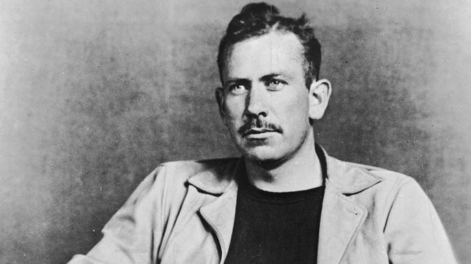 US novelist John Steinbeck (1902 - 1968).   (Credit: Hulton Archive/Getty Images)