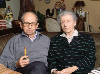 Raymond and Lucie Aubrac, c. 1990s.