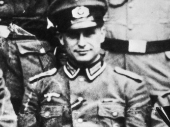 "Klaus Barbie, ""The Butcher of Lyon,"" in 1944."