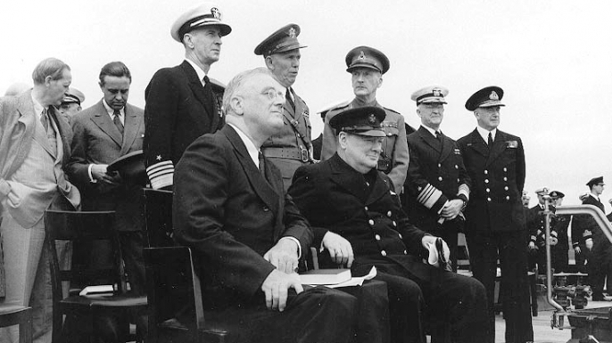 the relationship between franklin roosevelt and winston churchill