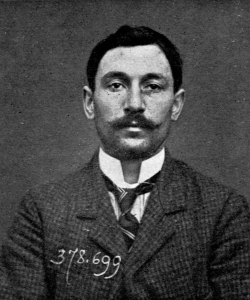 Vincenzo Peruggia, the man who stole the Mona Lisa.