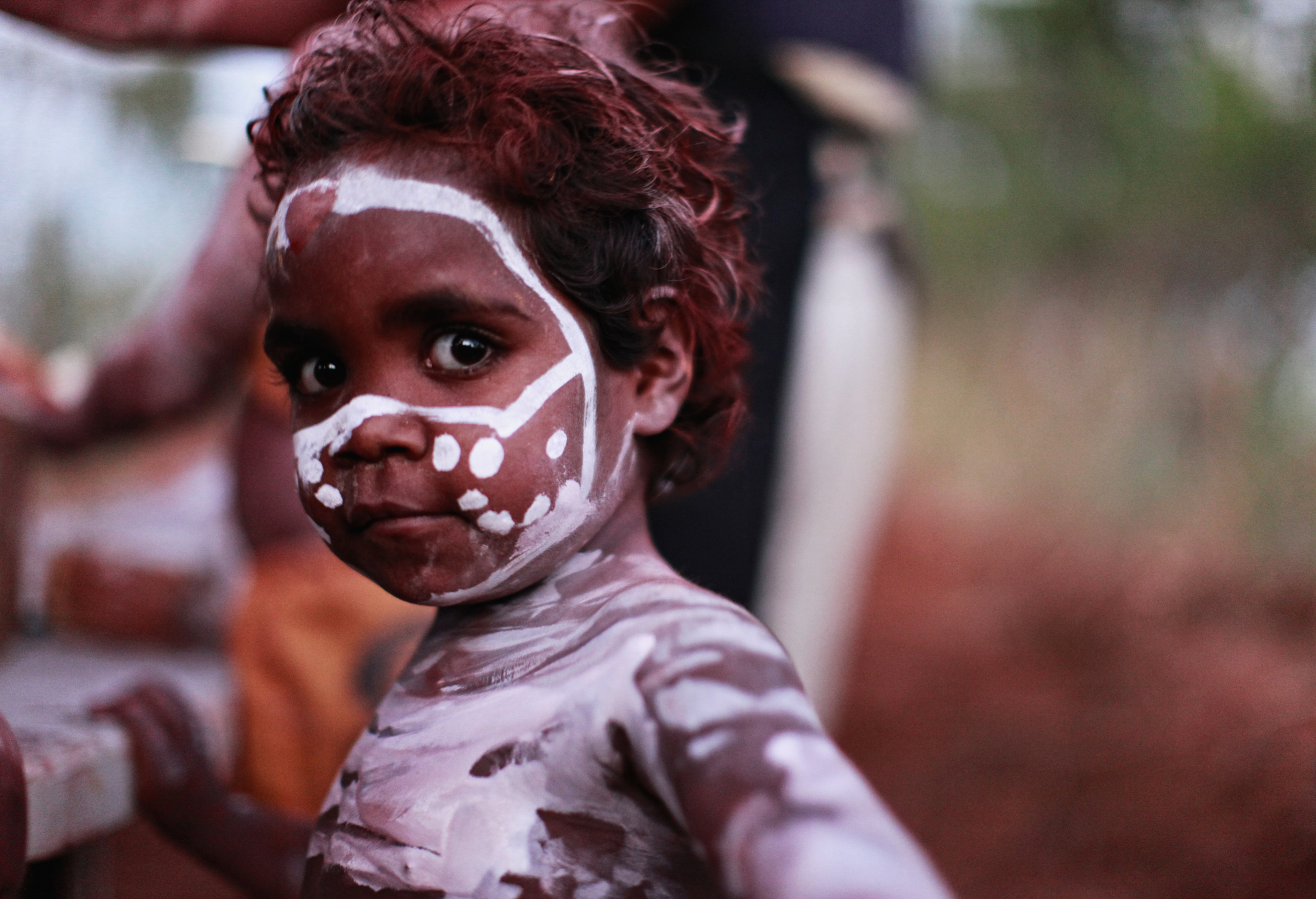 Aboriginal Face Painting Images