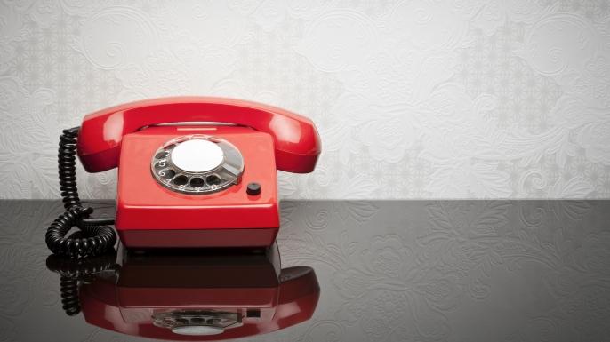 retro telephone, cold war